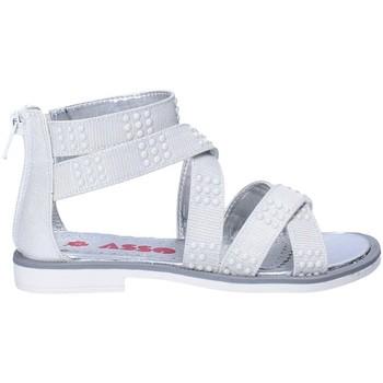 Chaussures Fille Sandales et Nu-pieds Asso 64026 Gris
