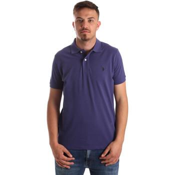 Vêtements Homme Polos manches courtes U.S Polo Assn. 41029 51244 Bleu