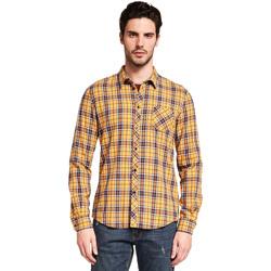 Vêtements Homme Chemises manches longues Gaudi 921BU45005 Jaune