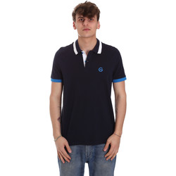 Vêtements Homme Polos manches courtes Gaudi 011BU64043 Bleu