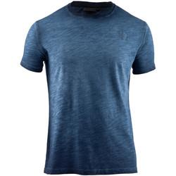 Vêtements Homme T-shirts manches courtes Lumberjack CM60343 004 517 Bleu