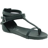 Chaussures Femme Sandales et Nu-pieds 18+ 6110 Noir