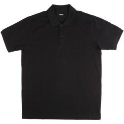 Vêtements Homme Polos manches courtes Key Up 2800Q 0001 Noir