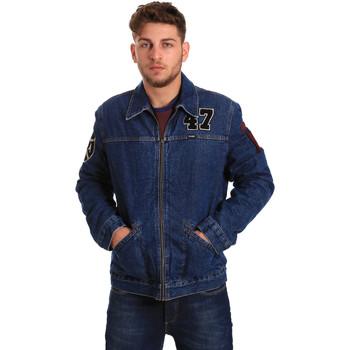 Vêtements Homme Vestes en jean Wrangler W4580512L Bleu