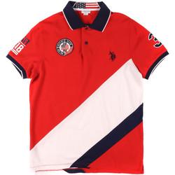 Vêtements Homme Polos manches courtes U.S Polo Assn. 43771 41029 Rouge