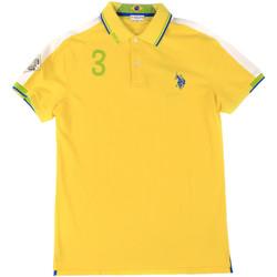 Vêtements Homme Polos manches courtes U.S Polo Assn. 43770 41029 Jaune