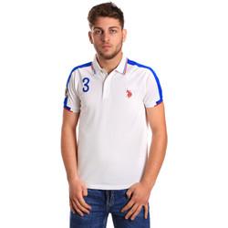 Vêtements Homme Polos manches courtes U.S Polo Assn. 43770 41029 Blanc