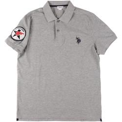 Vêtements Homme Polos manches courtes U.S Polo Assn. 43767 41029 Gris