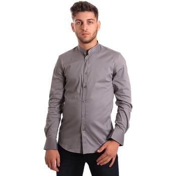 Vêtements Homme Chemises manches longues Antony Morato MMSL00376 FA450001 Gris