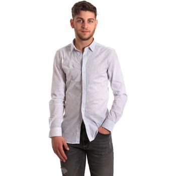 Vêtements Homme Chemises manches longues Antony Morato MMSL00428 FA430302 Blanc