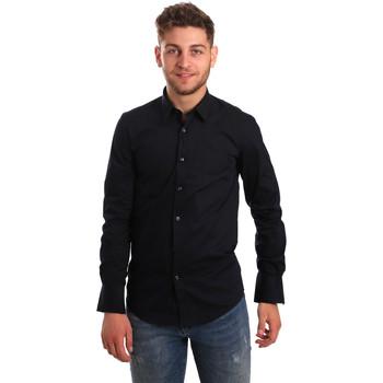 Vêtements Homme Chemises manches longues Antony Morato MMSL00472 FA450001 Bleu