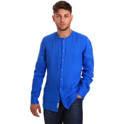 Vêtements Homme Chemises manches longues Gaudi 811BU45022 Bleu