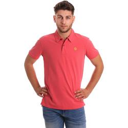 Vêtements Homme Polos manches courtes Gaudi 811BU64074 Rose