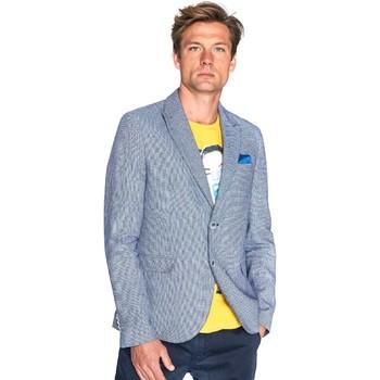 Vêtements Homme Vestes / Blazers Gaudi 811FU35035 Bleu