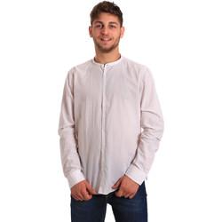 Vêtements Homme Chemises manches longues Gaudi 811FU45020 Blanc