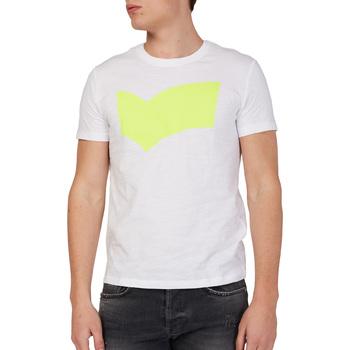 Vêtements Homme T-shirts manches courtes Gas 542973 Blanc