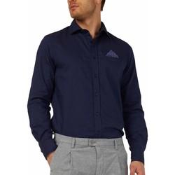 Vêtements Homme Chemises manches longues Gas 151131 Bleu