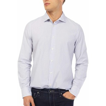 Vêtements Homme Chemises manches longues Gas 151144 Bleu