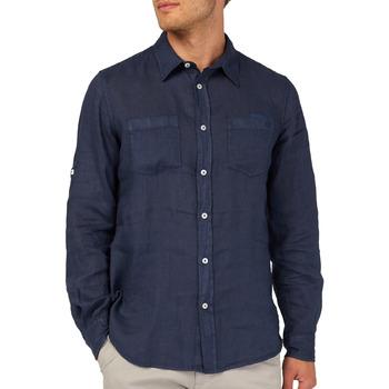 Vêtements Homme Chemises manches longues Gas 151150 Bleu