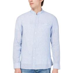 Vêtements Homme Chemises manches longues Gas 151228 Bleu