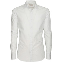 Vêtements Homme Chemises manches longues NeroGiardini P873051U Blanc