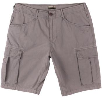 Vêtements Homme Shorts / Bermudas Napapijri N0YHF6 Gris