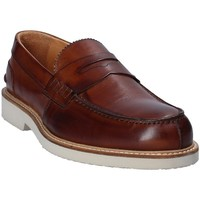 Chaussures Homme Mocassins Exton 9102 Marron