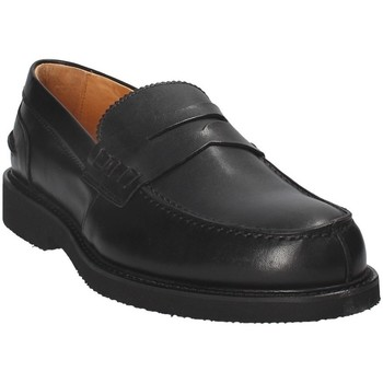 Chaussures Homme Mocassins Exton 9102 Noir