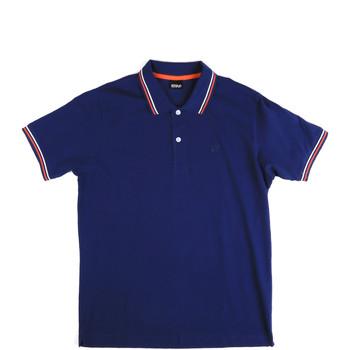 Vêtements Homme Polos manches courtes Key Up 2Q70G 0001 Bleu