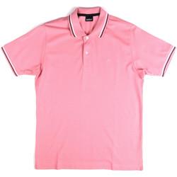 Vêtements Homme Polos manches courtes Key Up 2Q70G 0001 Rose