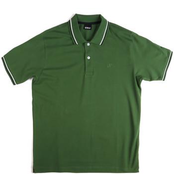 Vêtements Homme Polos manches courtes Key Up 2Q70G 0001 Vert