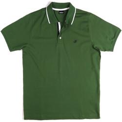 Vêtements Homme Polos manches courtes Key Up 2Q711 0001 Vert