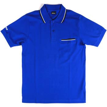 Vêtements Homme Polos manches courtes Key Up 2Q827 0001 Bleu