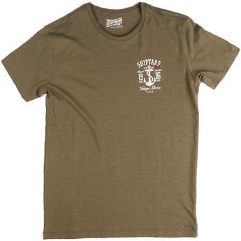 Vêtements Homme T-shirts manches courtes Key Up 2G77S 0001 Vert