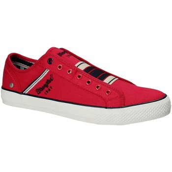 Chaussures Homme Baskets basses Wrangler WM181033 Rouge
