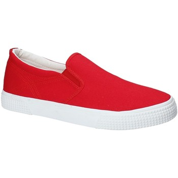 Chaussures Homme Slip ons Gas GAM810165 Rouge