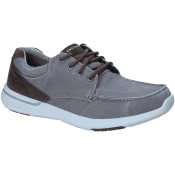 Chaussures Homme Baskets basses Skechers 65494 Gris