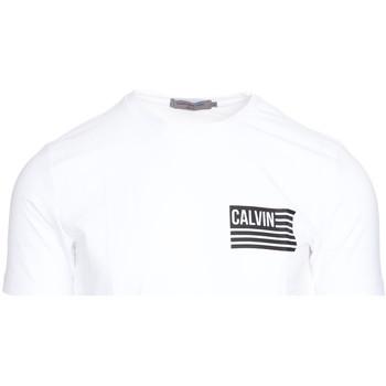 Vêtements Homme T-shirts manches courtes Calvin Klein Jeans J30J306891 Blanc