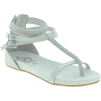 Chaussures Femme Sandales et Nu-pieds 18+ 6110 Blanc