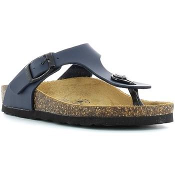Chaussures Enfant Tongs Gold Star 1830 Bleu