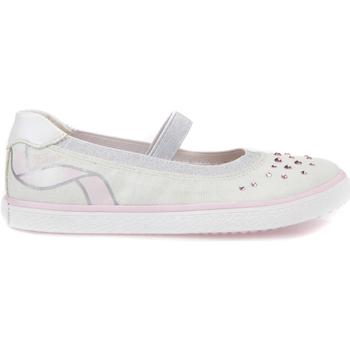 Chaussures Fille Ballerines / babies Geox J82D5K 000AS Blanc
