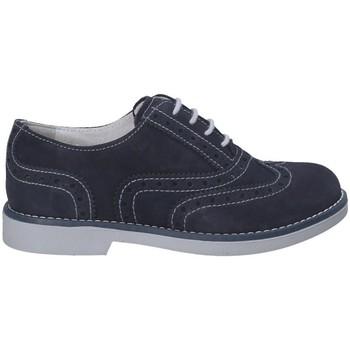 Chaussures Garçon Derbies Nero Giardini P833000M Bleu