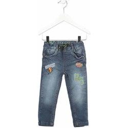 Vêtements Enfant Jeans slim Losan 815-6019AC Gris