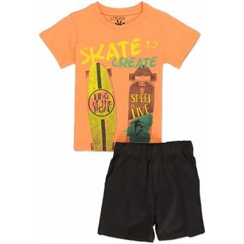 Vêtements Garçon Ensembles enfant Losan 815-8046AC Orange