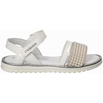 Chaussures Fille Sandales et Nu-pieds Melania ME6094F8E.B Blanc