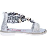 Chaussures Fille Sandales et Nu-pieds Asso 64075 Gris