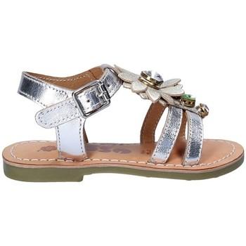 Chaussures Fille Sandales et Nu-pieds Asso 55002 Gris