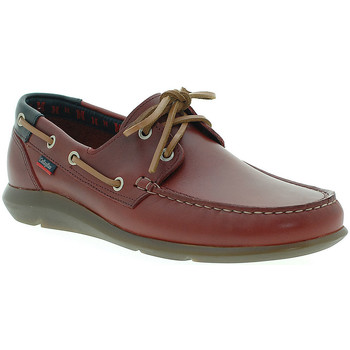 Chaussures Homme Chaussures bateau CallagHan 14400 Rouge
