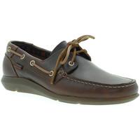 Chaussures Homme Chaussures bateau CallagHan 14400 Marron