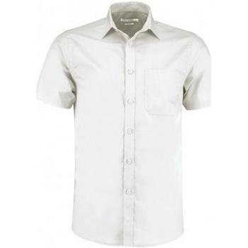 Vêtements Homme Chemises manches courtes Kustom Kit KK141 Blanc